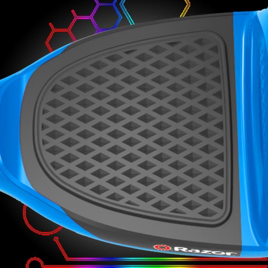 Brand new anti-slip foot pads help stay on and keep the hovertrax price low