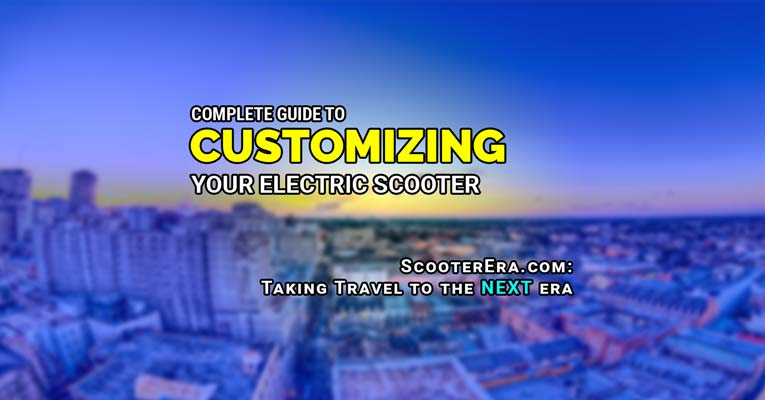 Customizing Your Self Balancing Scooter