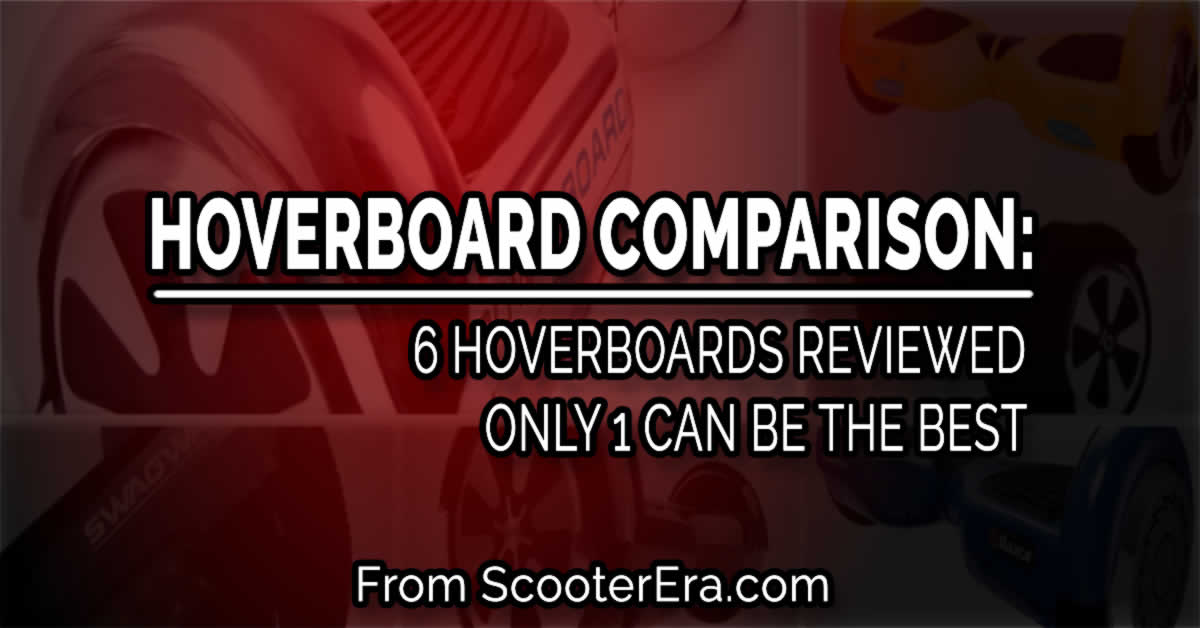 6 Hoverboards Compared: This is the Best One