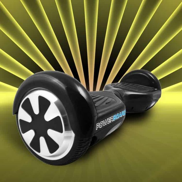 a black hoverboard from Powerboard
