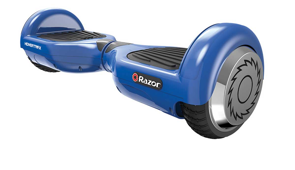 the Razor hovertrax electric self balancing scooter