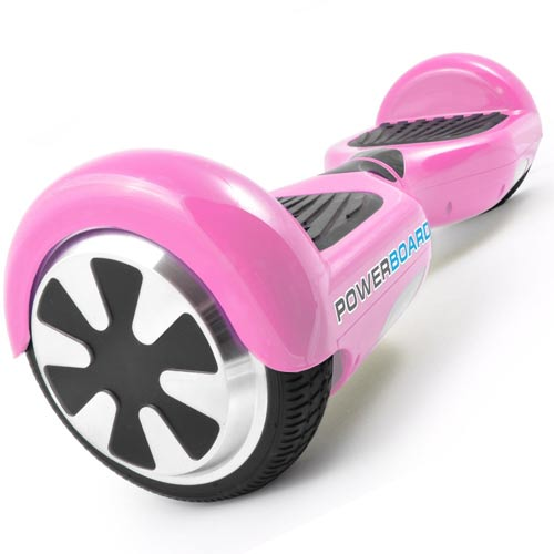 Pink Hoverboard from Powerboard
