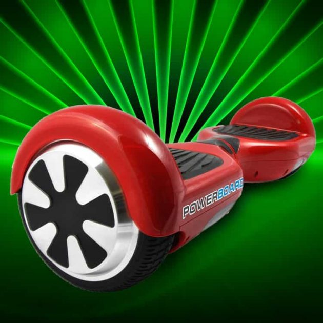 You can get a Powerboard by Hoverboard in Red, White, Black, and Blue