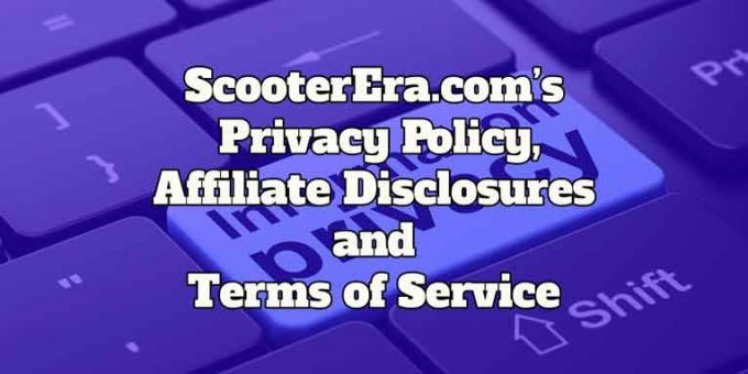 The Privacy Policy and Terms of Service