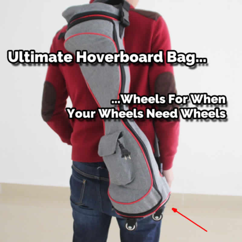 This is the Ultimate Bag For Your Hands Free Scooter
