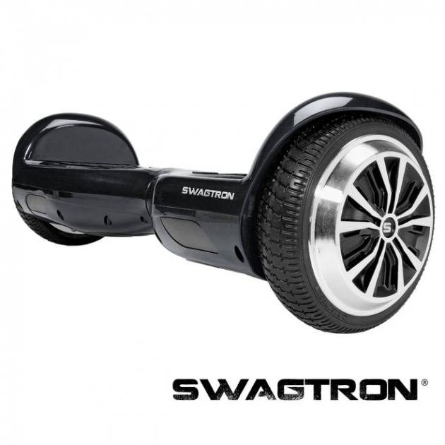 The Swagtron T1 smart balance board has new wheel rims and smaller fenders