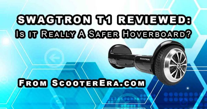 Reviewing the SwagTron T1 smart self-balancing board