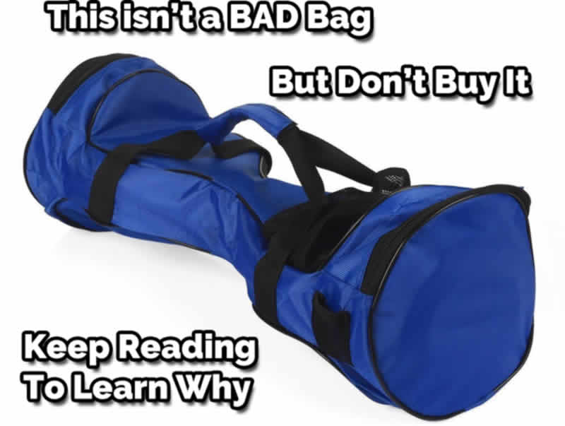 Don't Buy This Self Balancing Bag