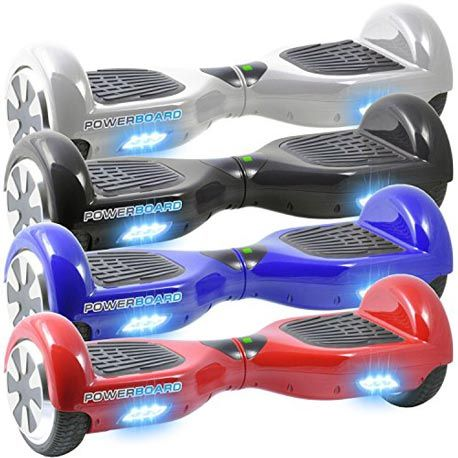 the powerboard scooter comes in many colors