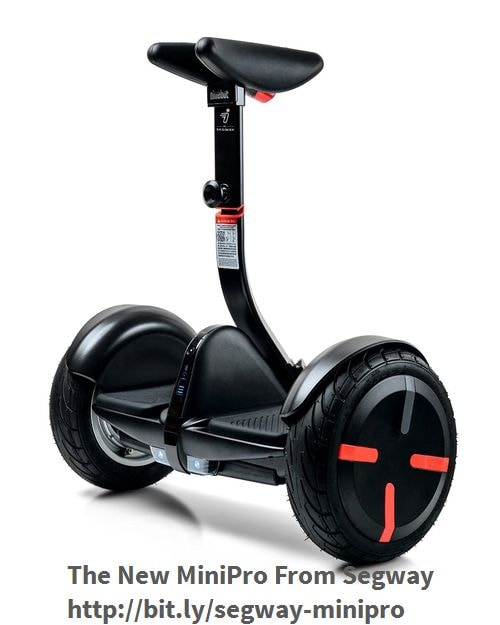 Now Available for Pre-orders is the MiniPro from Segway